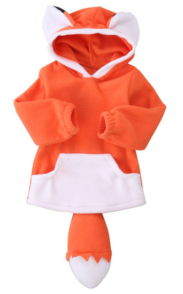 Unisex Baby Cute Cartoon Animal Hooded Costume Outfit