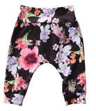 Bilo Infant Baby Girl Floral Pattern Long Sleeve Hoodie and Pants 3 pcs Cotton Outfit Floral Pants