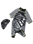 Baby Boy Kids Zebra Costume Swimsuit and Hat - Bilo store