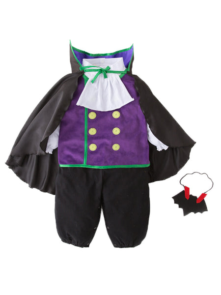 Bilo Infants Toddlers Baby Boys Vampire Halloween 4-Piece Costume Outfit - Bilo store