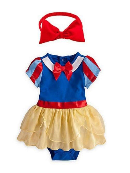 Baby Girl Snow White Costume and Headband - Bilo store