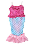 Bilo Kids Girl's Princess Mermaid Dress Halloween Party Costume - Bilo store
