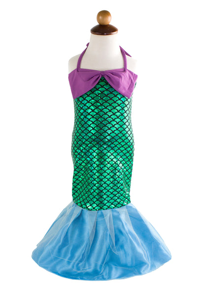 Kid Girls Lovely Princess Mermaid Tail Dress Birthday Party Halloween Costume Outfit - Bilo store
