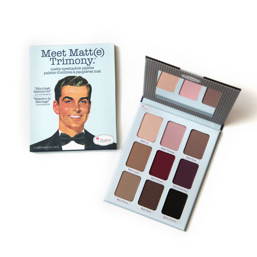 Meet Matt(e) Trimony - Matte Eye Shadow Palette