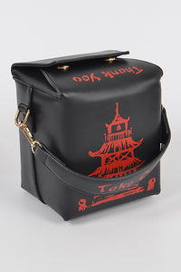 Chinese Takeout Handbag - Multiple Colors