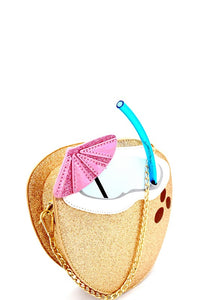 Tropical Drink Novelty Bag
