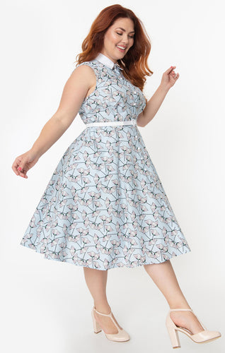 Darlene Floral Swing Dress