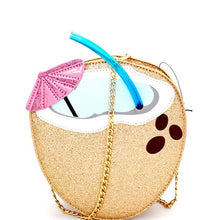 Load image into Gallery viewer, Tropical Drink Novelty Bag