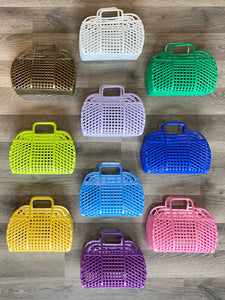 Small Retro Jelly Purse - Multiple Colors