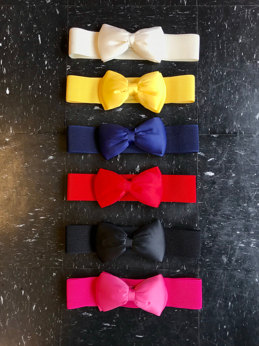 Elastic Bow Belt