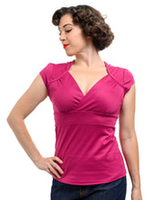 Load image into Gallery viewer, Classic Lush Top in Magenta