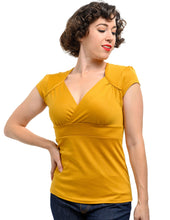 Load image into Gallery viewer, Classic Lush Top in Mustard