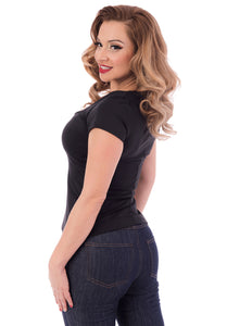 Sophia Top in Black