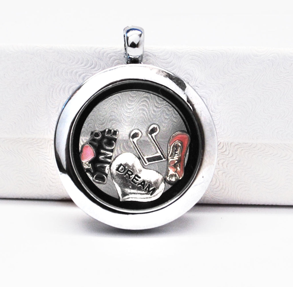 Dance -  Stainless Steel Floating Locket