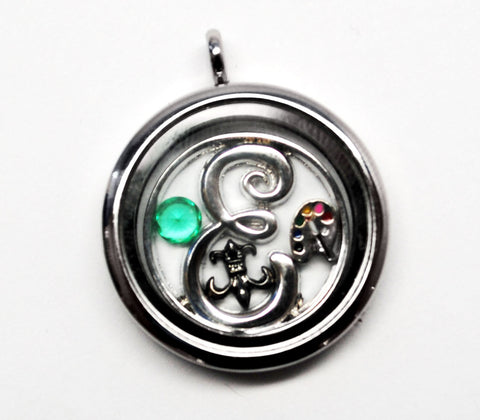 Initialized - Custom Floating Locket