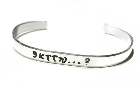 You know that thing where…? - TV Tropes Aluminum Bracelet