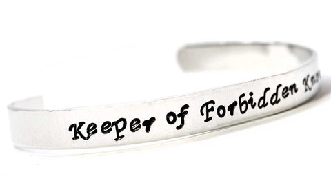 Keeper of Forbidden Knowledge - TV Tropes Aluminum Bracelet