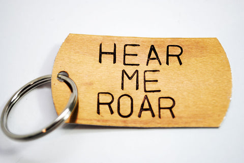 Hear Me Roar - Game of Thrones Anodized Aluminum Keychain