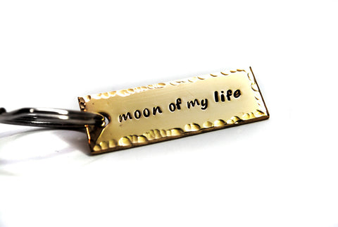 Moon of My Life - Game of Thrones Brass Keychain