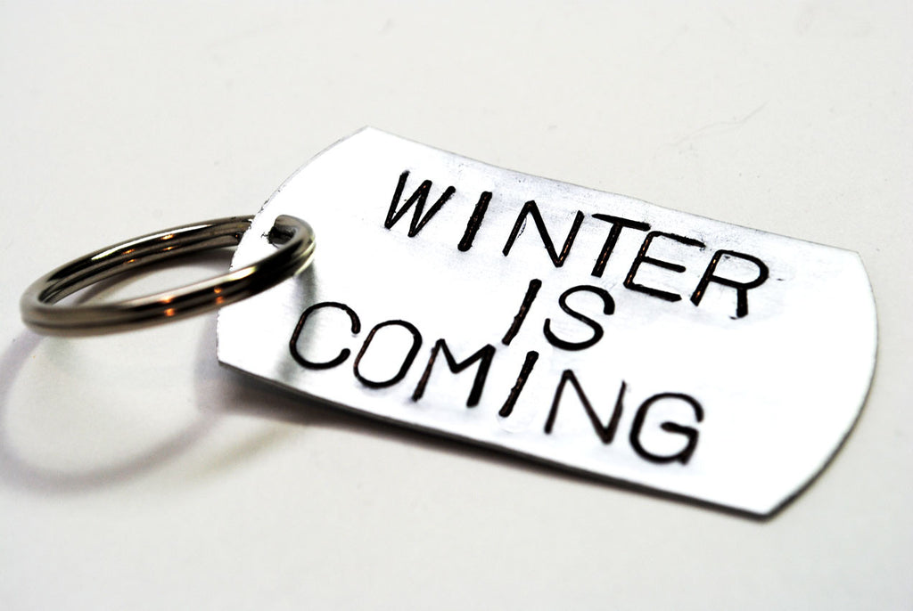 Winter is Coming - Game of Thrones Anodized Aluminum Keychain