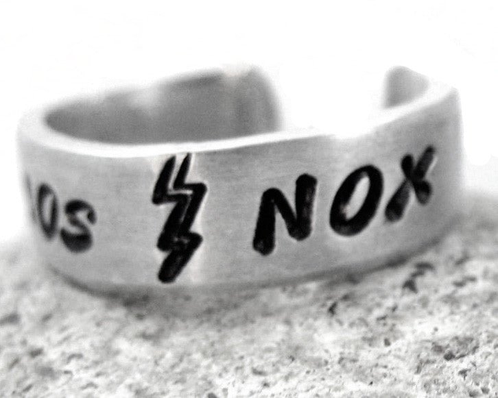 Lumos/Nox - Harry Potter Aluminum Ring