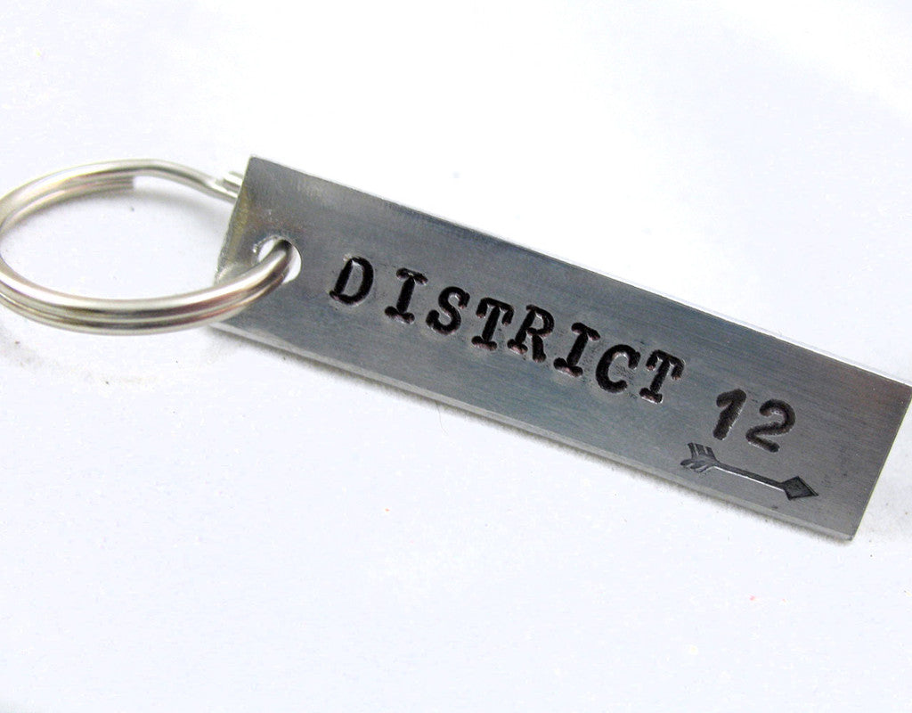 District 12 - Aluminum Keychain