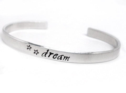 Dream - Aluminum Bracelet