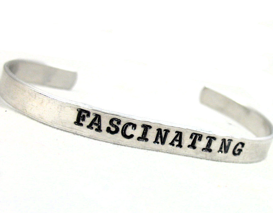 Fascinating - Aluminum Bracelet