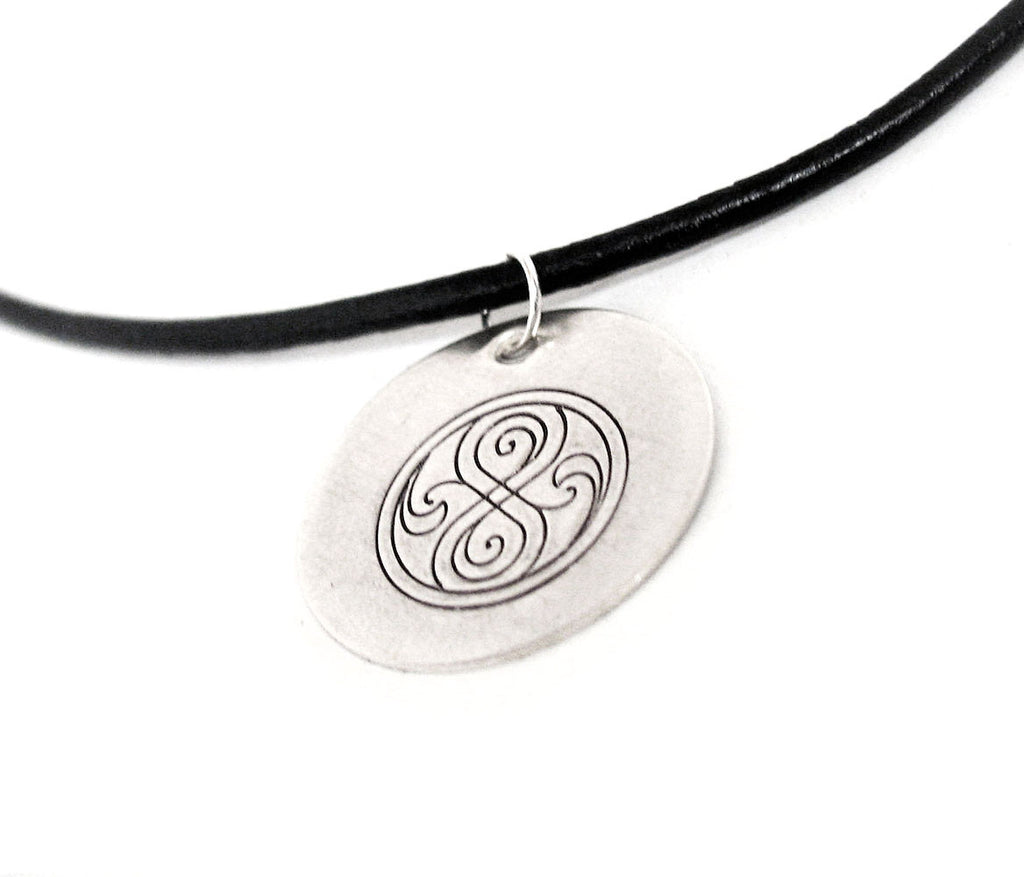 Seal of Rassilon - Sterling Silver Pendant