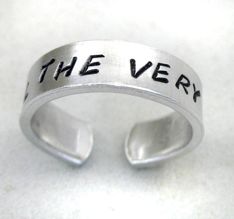 Until the Very End - Aluminum Ring