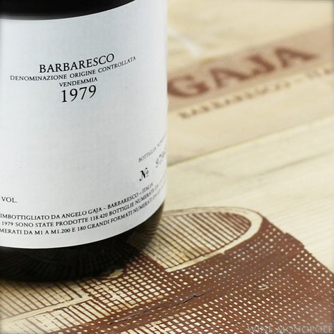 Gaja Barbaresco 1979