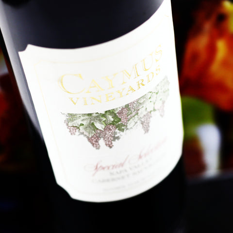 Caymus Vineyards Cabernet Sauvignon Special Selection 1989
