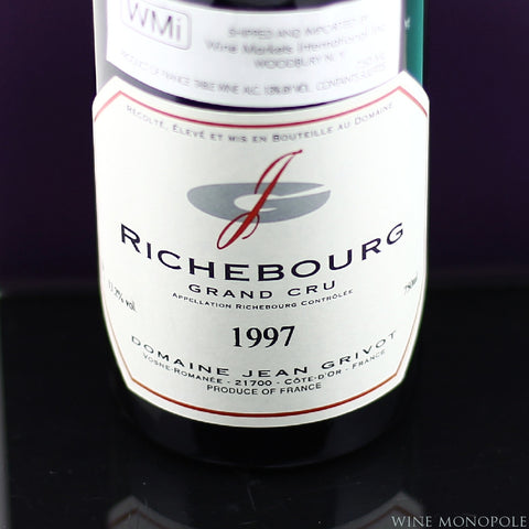 Jean Grivot Richebourg Grand Cru 1997