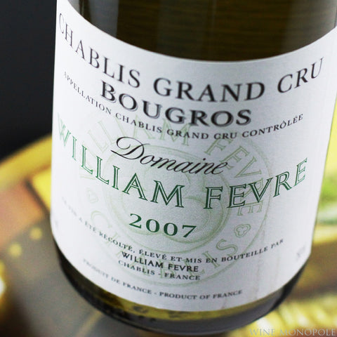 William Fevre Chablis Bougros Grand Cru 2007