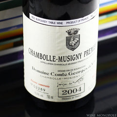 Comte Georges de Vogue Bonnes-Mares Grand Cru 2004