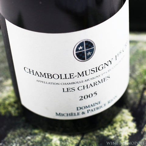 Patrice Rion Chambolle Musigny Les Charmes 1er Cru 2005