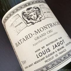 Louis Jadot Batard-Montrachet Grand Cru 1996 (damaged label)