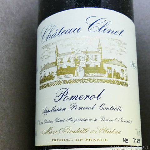 Chateau Clinet 1994