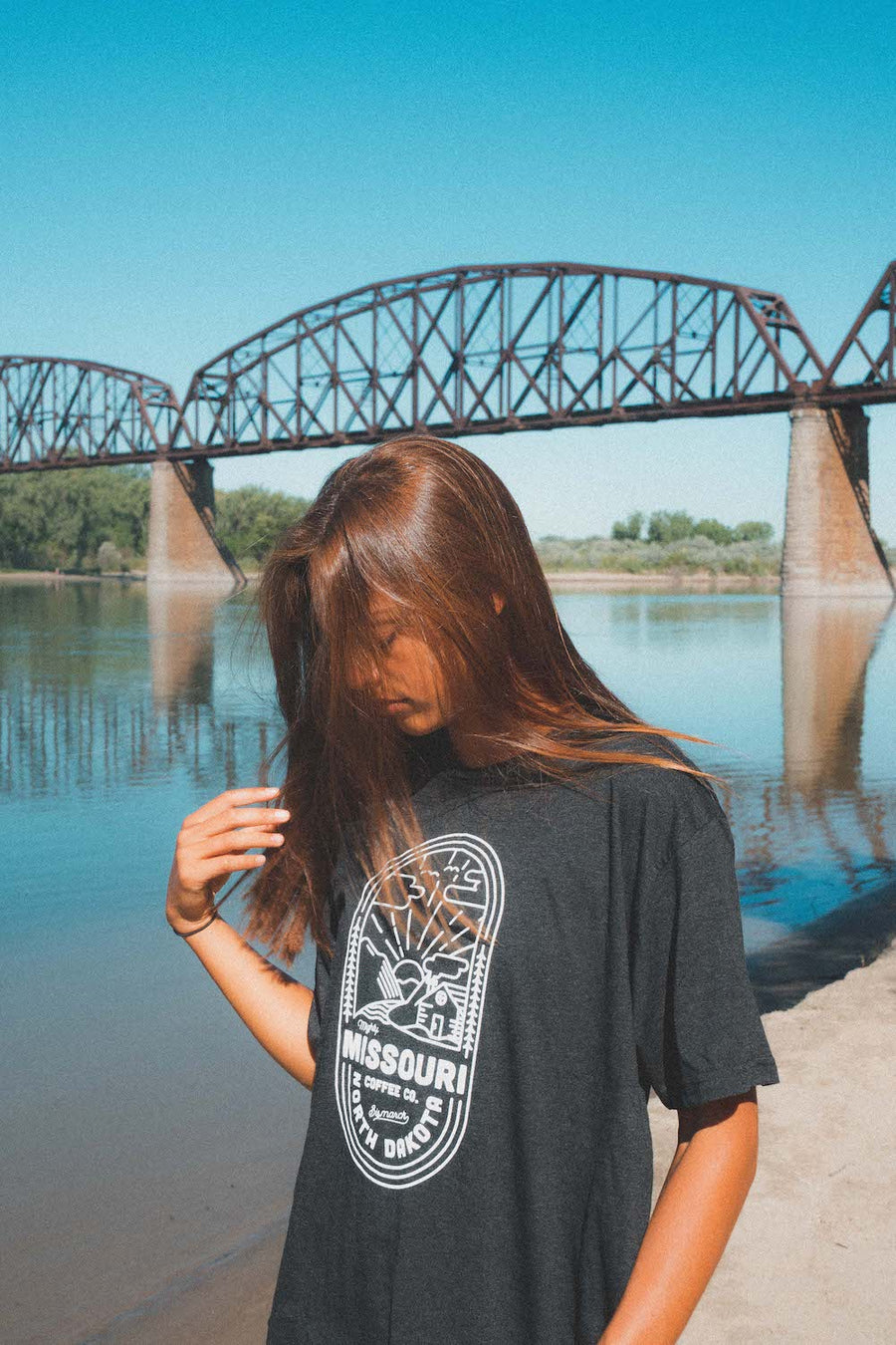 Mighty Missouri Coffee Cabin Tee