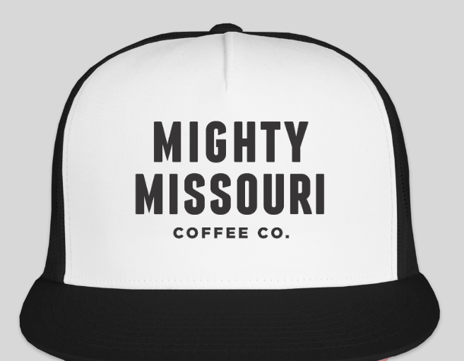 Mighty Missouri Coffee Snapback Trucker Hat