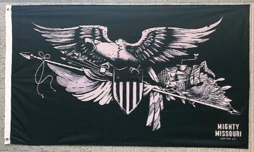 Mighty Missouri Eagle Flag