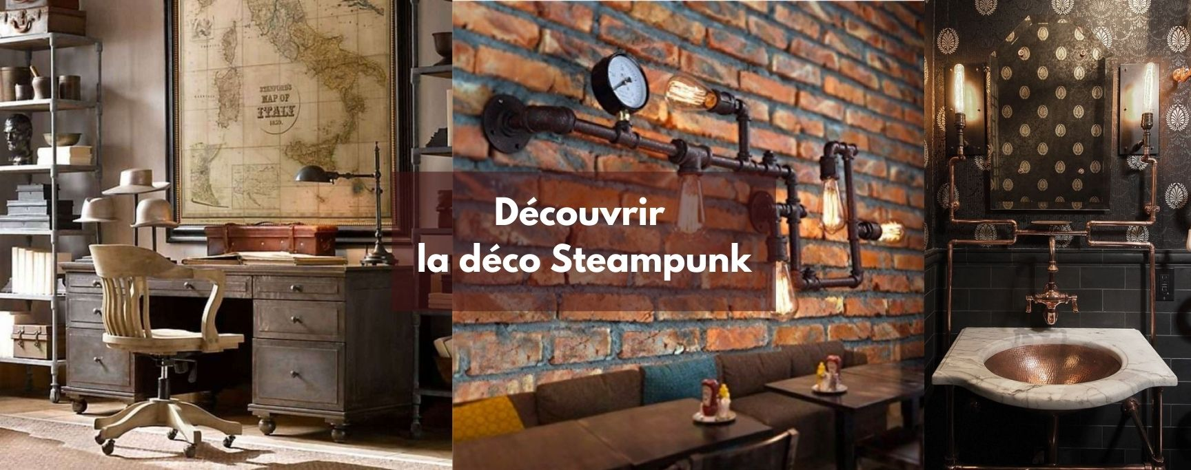 deco steampunk