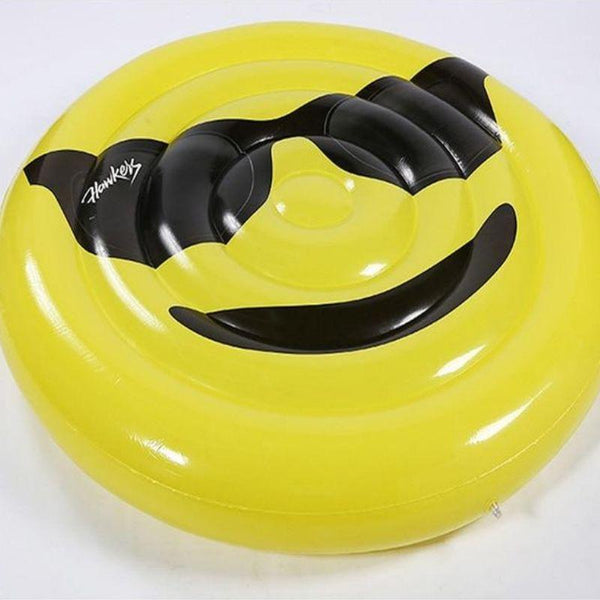 matelas gonflable smiley