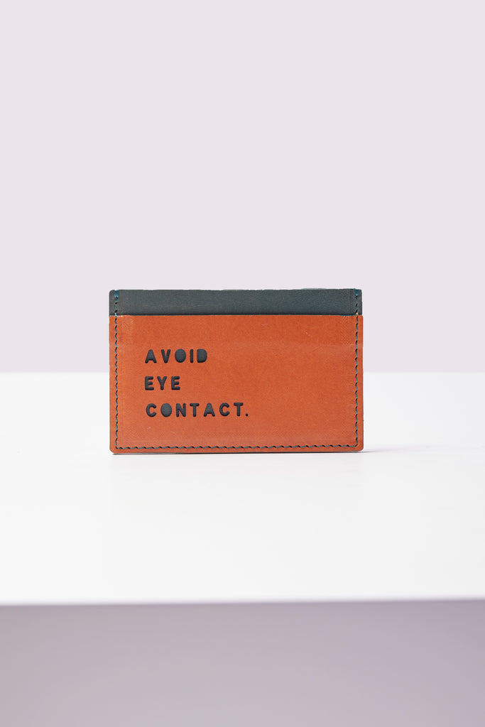 Card Holder - Avoid Eye Contact