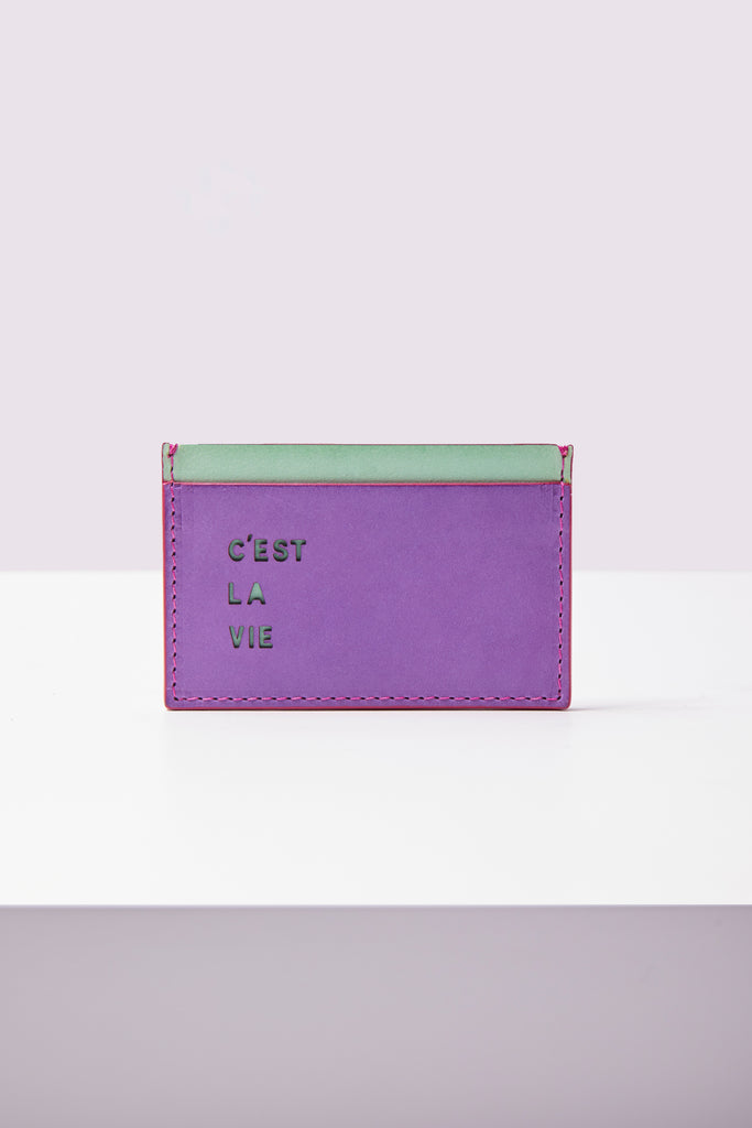 Card Holder - C'est La Vie