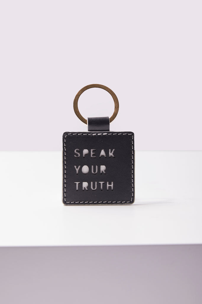 Key Ring - Speak Your Truth