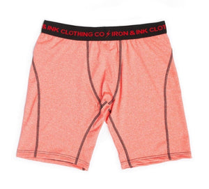 """NEW"" Performance Boxer Briefs- Red/Black"