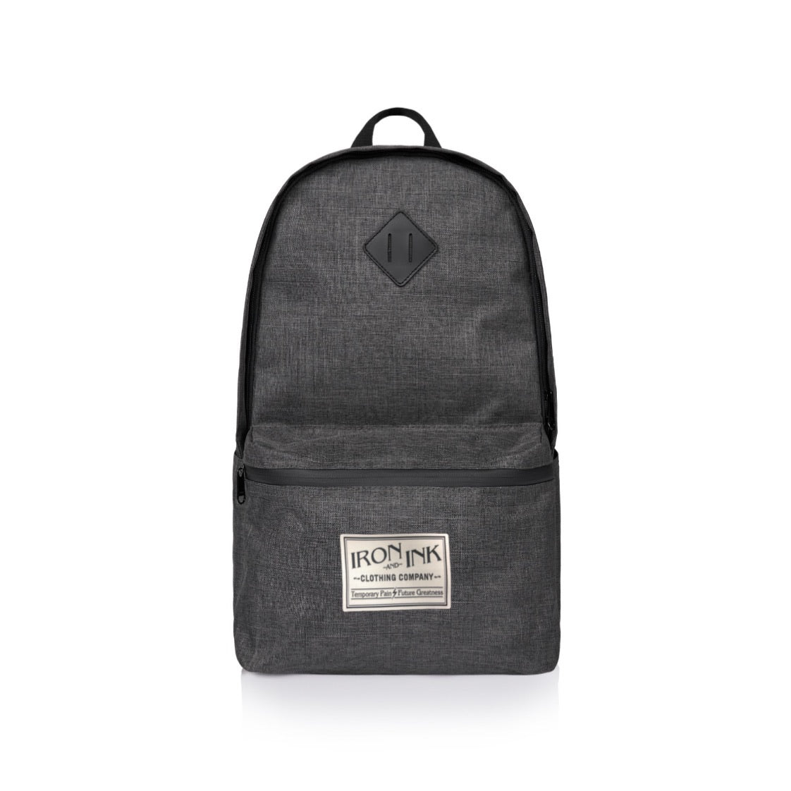 Patch Backpack- Grey