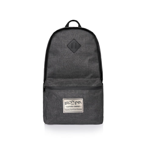 """NEW"" Patch Backpack- Grey"