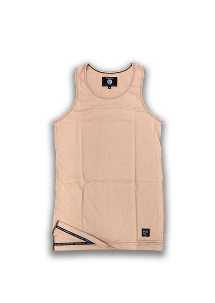 """NEW"" IIF Customs Trademark Tank Top- Tan"